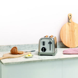 Toaster 2 tranches Inox