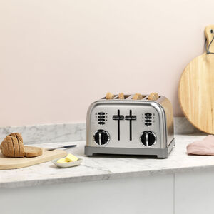 Toaster 4 tranches Inox